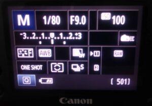 Belichtungsreihe bei Canon