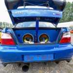 Subaru WRX Supermen Kofferraum