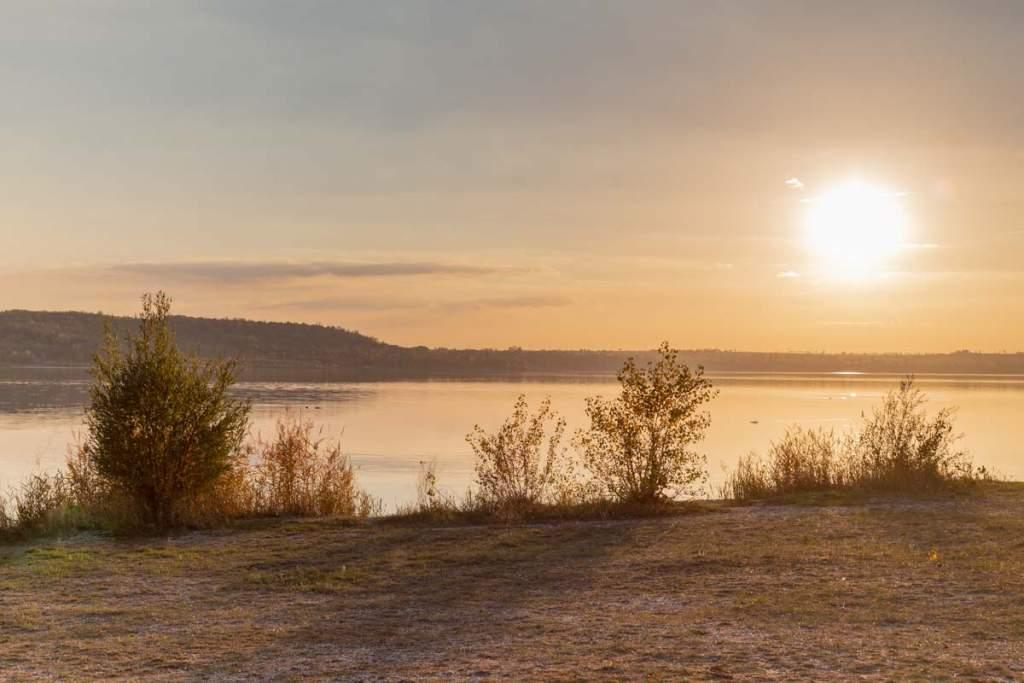 Sonnenuntergang Frankleben