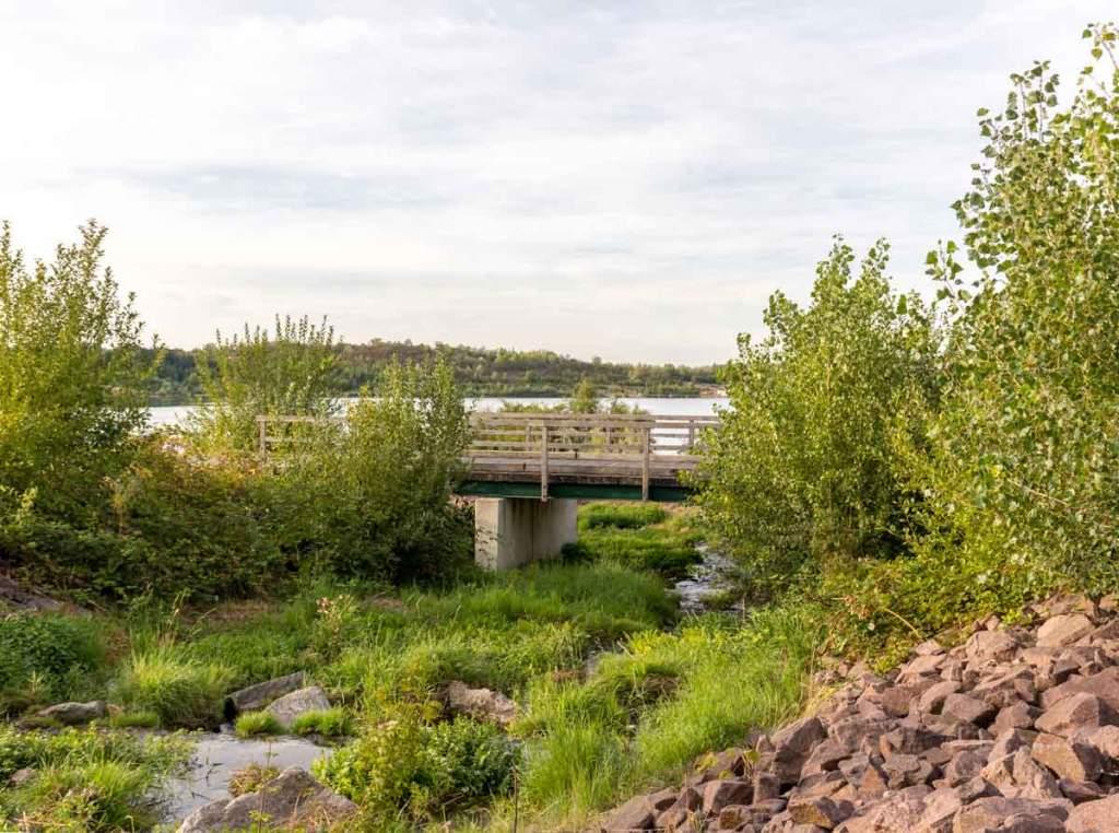 Brücke über die Geisel