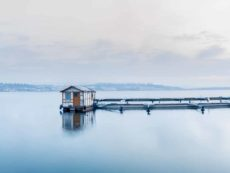 Bild 0023 | Hausboot im Hafen