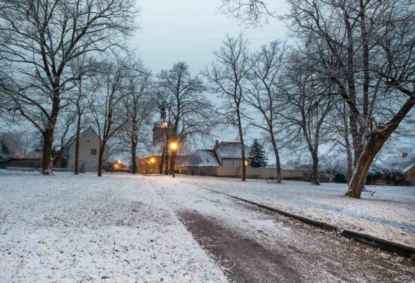 Bild 0037   Stadtpark Mücheln im Winter