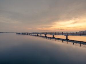Bild 0021   Sonnenaufgang an der Seebrücke