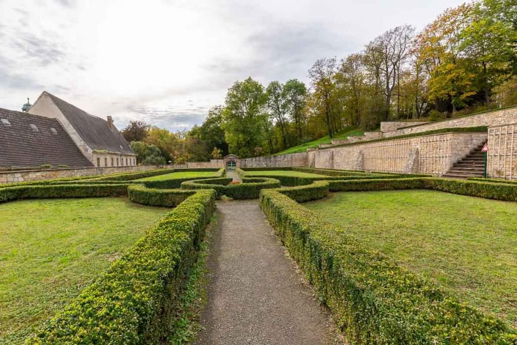 Barockgarten in Sankt Ulrich