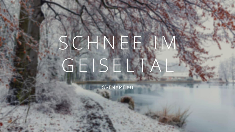 Schnee im Geiseltal - Beitragsbild