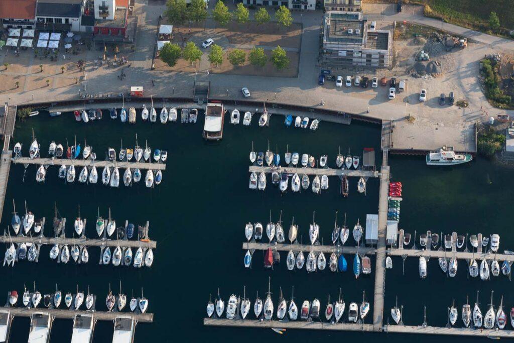 Hafen in Mücheln